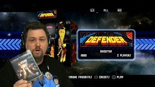 Defender - Midway Arcade Origins (Part 6/31) (PS3) - Croooow Plays