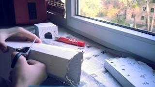 #СвоимиРуками♡ДОМИК ДЛЯ ХОМЯКА♡(В этом видео показано как сделать домик для хомяка♡ Понадобится: ▷Коробка ▷Ножницы ▷Клей ▷Кусочки бумаг..., 2014-05-04T13:30:27.000Z)