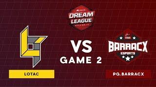 Lotac VS WG.Unity | Bo3 l Lower Bracket Round 2 DreamLeague Season 11 SEA Qualifiers | Game 2