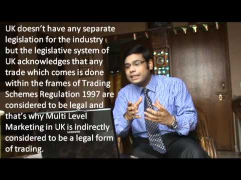 Network Marketing In India - Legal of not?