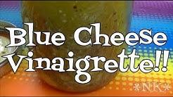 Blue Cheese Vinaigrette Dressing Recipe!  Noreen's Kitchen