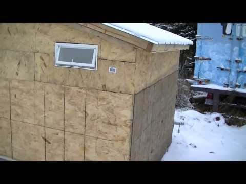 7 foot by 7 foot Chicken coop good for 10-20 chickens Northern Minnesota