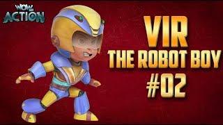 Vir: The Robot Boy   Hindi Cartoon Compilation For Kids   Compilation 02   WowKidz Action