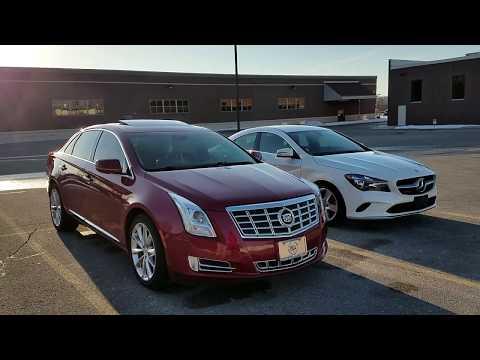 2013 Cadillac XTS vs 2018 Mercedes CLA250