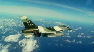 Exercise Cope North-Guam 354th FW/18th Aggressor Sq F-16CM/DM Flight Operations