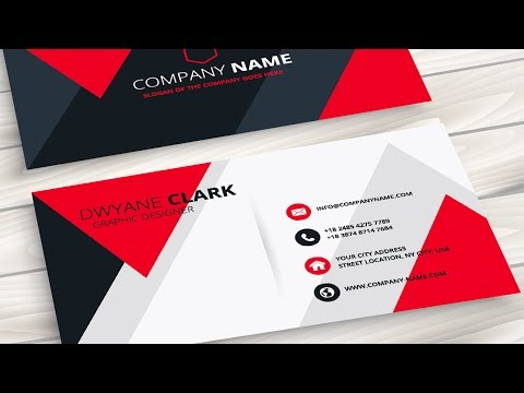 How to make business card in coreldraw x5