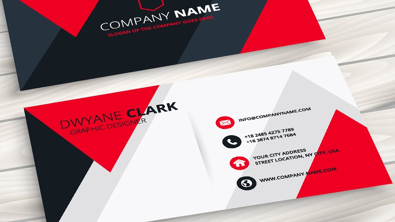 Creating a Professional Business Card without any hassle - Coreldraw ...