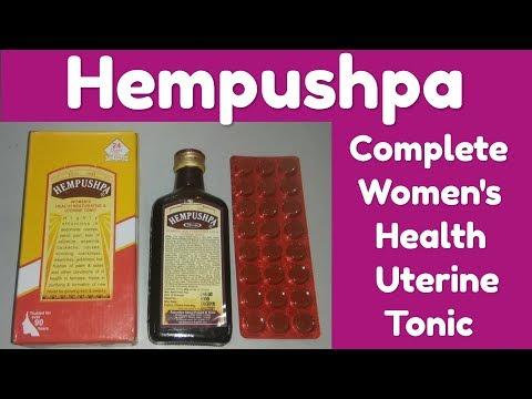 Hempushpa Best Women's Health Restorative & Uterine Tonic Full Review In Hindi