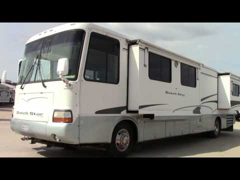 Preowned 2001 Dutch Star 3891 Class A Diesel Motorhome RV - Holiday World Of Houston In Katy, Texas