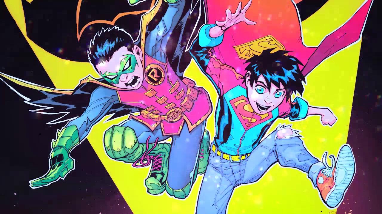[DC Super Sons] DamiJon (Damian x Jonathan) - Jon loves Dami like LaLaLa!