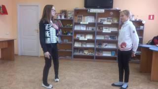 Страна читающая — Ирина, Полина и Анастасия читают произведение ''Кукушка и Петух'' И. А. Крылова