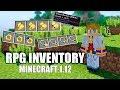 MINECRAFT 1.12 - RPG INVENTORY MOD - Karmaland - REVIEW y DESCARGAR