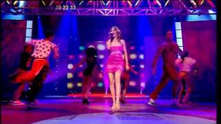 Kylie Minogue - Step Back In Time (live @ Children In Need - 19 nov 2004)