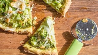 The Best Parsley Pesto Pizza //collab Buonapappa