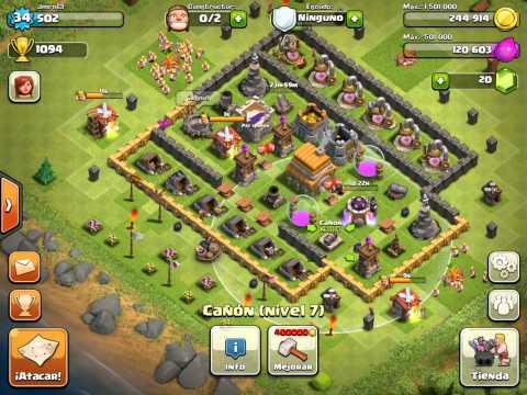 Clash Clans Hack Clash Clans Clan Gemas Gratis Para El Clash Clans