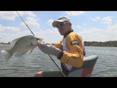 Lake Granbury TX Crappie Fishing Southwest Outdoors Report #29 - 2012 Season