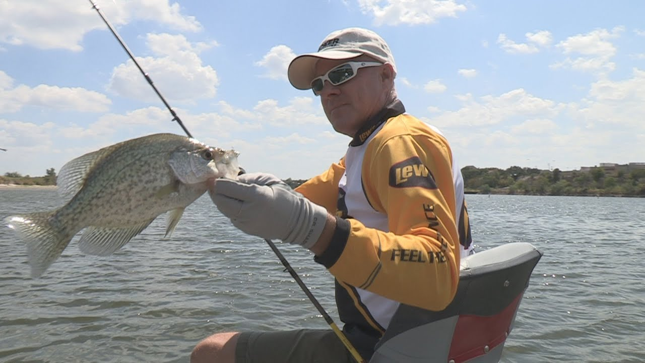 Lake granbury tx crappie fishing southwest outdoors report for Crappie fishing report