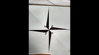 How to draw star design || art by mahesh || star tattoo