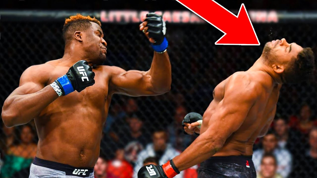 9 Minutes of Francis Ngannou DESTROYING His UFC Opponents