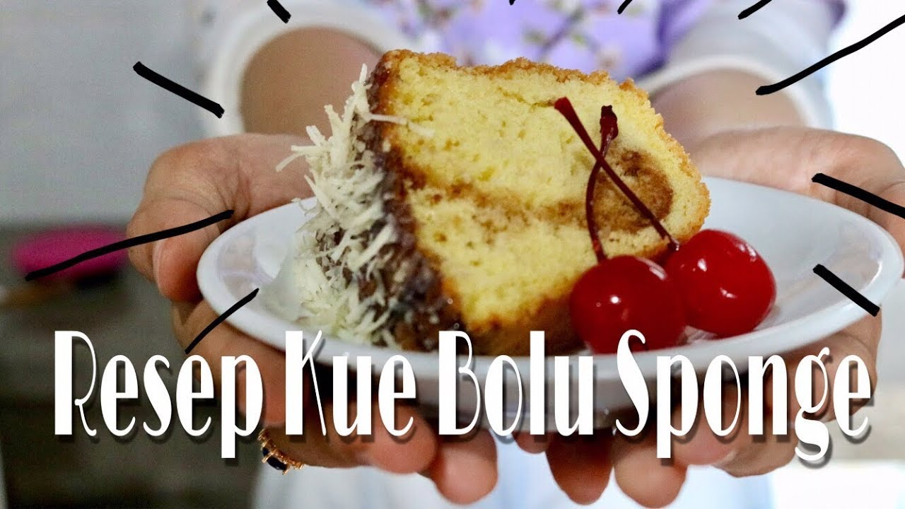 Resep Sponge Cake Jepang: Sponge Cake Recipe - YouTube