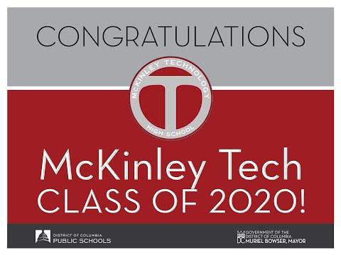 DCPS Class of 2020 Graduation - McKinley Technology High School
