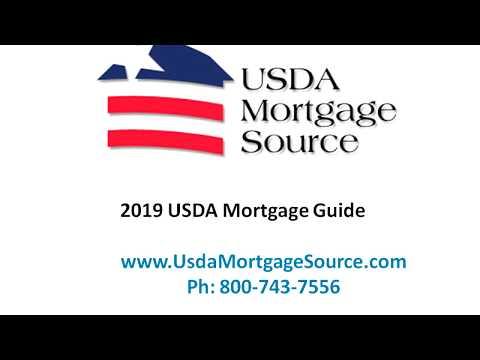 2019 USDA Rural Housing Loan Program