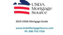 2019 USDA Rural Housing Loan Program