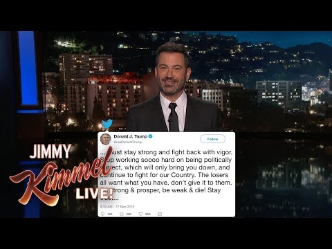 Trump Thinks Late Night Hosts are Colluding with Russia