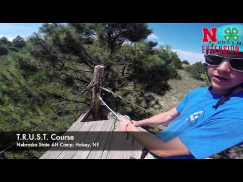 Nebraska 4-H Camp, T.R.U.S.T. Course