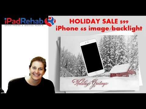 Holiday Sale--$99 No image, no backlight repairs