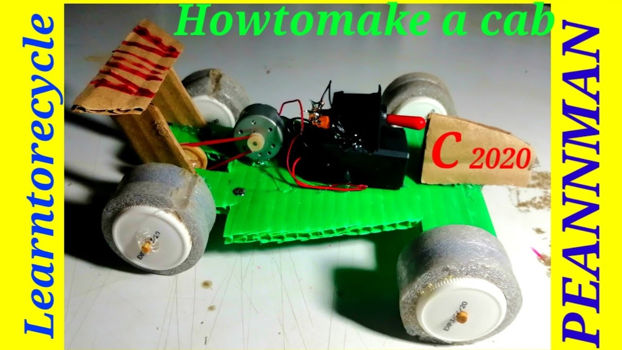 how to make recycled cars
