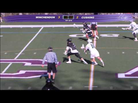 Cushing Academy - Varsity Boys Lacrosse vs. Winchendon School