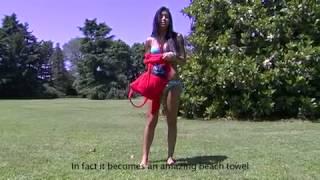 Veronica Ciardi video completo in bodypainting per campagna pubblicitaria hi-fun-hi-Sun