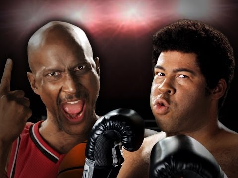 Michael Jordan vs Muhammad Ali.  Epic Rap...