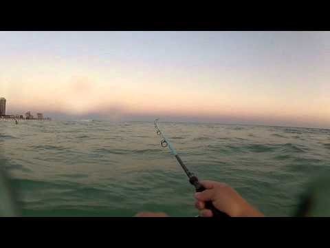 Surf fishing destin florida youtube for Surf fishing destin fl