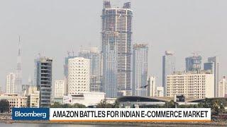 Amazon Battles for Indian E-Commerce Market