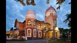 Luxury Art Nouveau Hotel Villa Ammende 4 Амменде Вилла Пярну Эстония обзор отеля территория