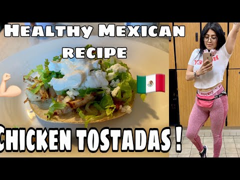Healthy Mexican Chicken Tostadas (fat-loss recipes)