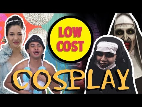 We Tried Low Cost Cosplay (ft. BlackPink, Venom, The Nun & More) | TSL Vlogs