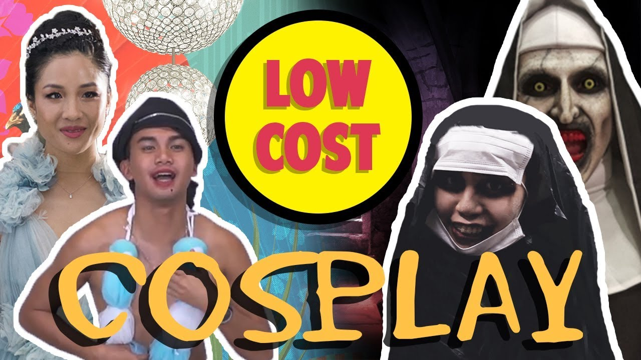 WE TRIED LOW COST COSPLAY (ft. BLACKPINK, VENOM, THE NUN & MORE)   TSL Vlogs