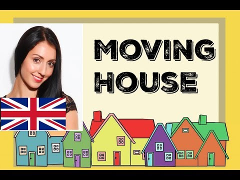 MOVING HOUSE: British Traditions, Vocabulary, and Phrases with ANNA ENGLISH:  LIVE