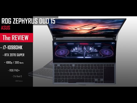 ASUS ROG Zephyrus DUO 15 , the King of Laptops !  Powered by  Intel
