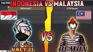 VALT 21 VS WNL DEMON,BEST PLAYER MALAYSIA ONE SHOT ONLY,MODE SERIUS ON!!
