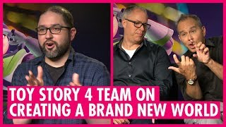 How Many Easter Eggs Are In Toy Story 4? -  Josh Cooley, Jonas Rivera & Mark Nielsen Interview