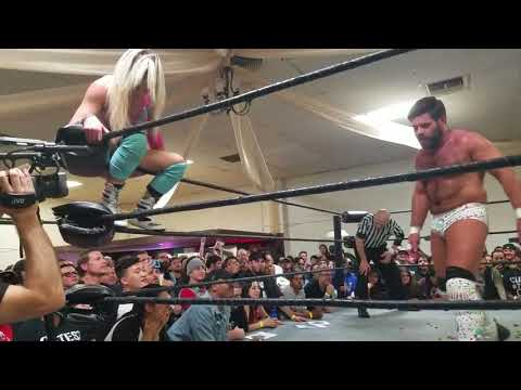 Candice LeRae Vs Joey Ryan (Candice Indie Last Match) 18 / 01 / 17
