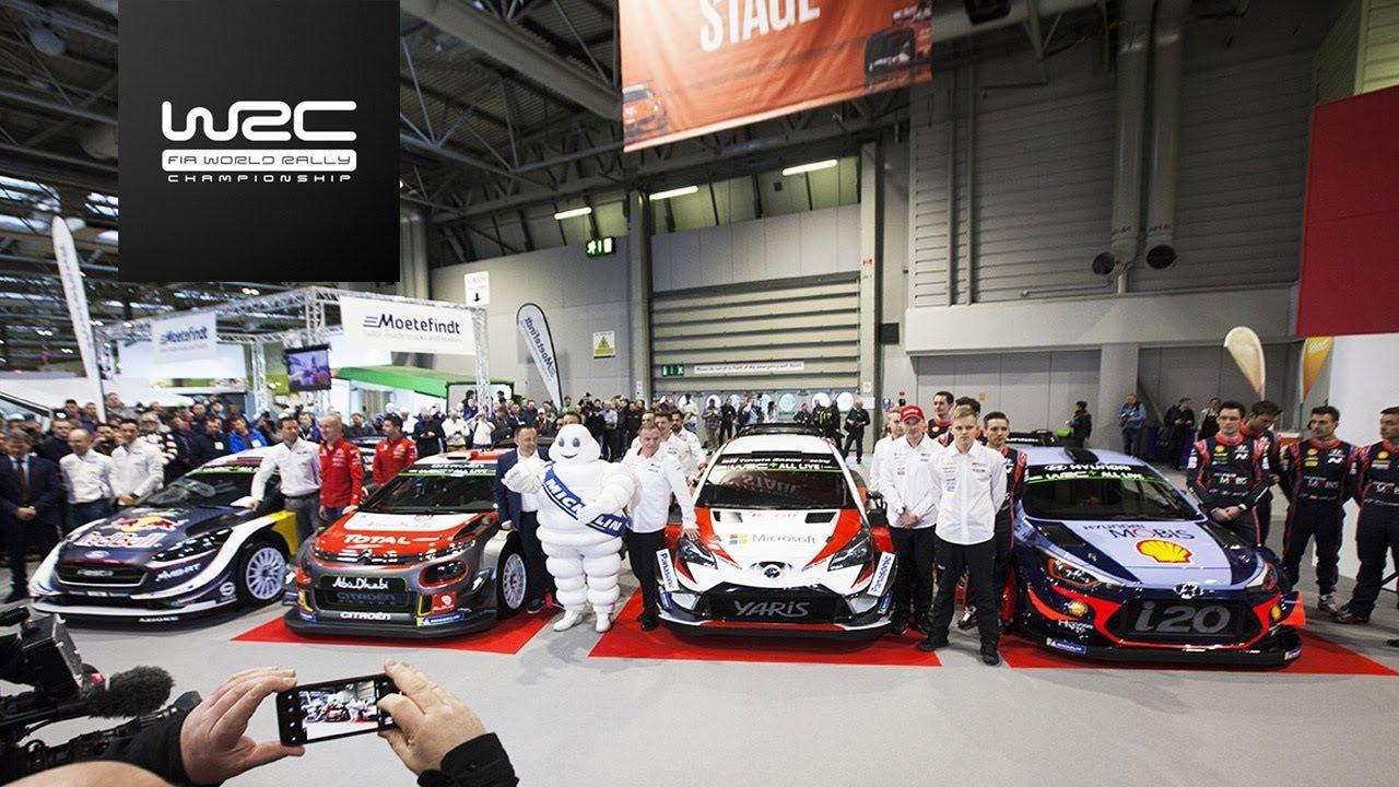 2018 Wrc Season Launch Autosport International Show Youtube