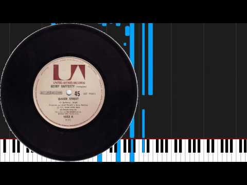 How to play Baker Street by Gerry Rafferty on Piano Sheet Music
