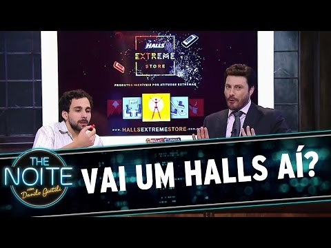 The Noite (19/11/15) - Merchan Halls
