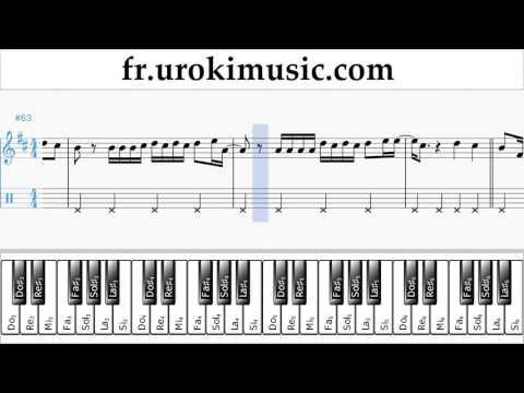 Cours De Piano Main Droite Luis Fonsi Despacito Tuto