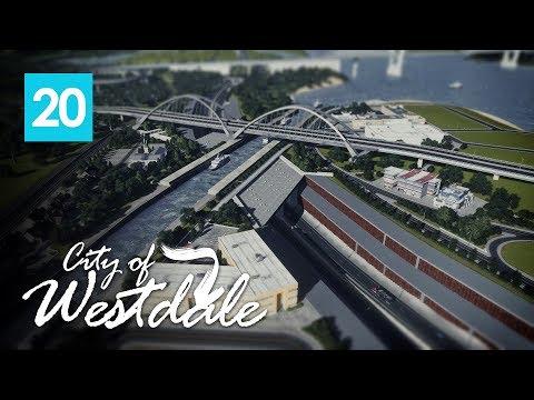 Cities Skylines: City of Westdale EP20 - Water Bridge